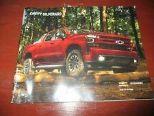 2018-2019 Chevy Silverado Pickup Dealer's brochure/accessories