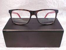 Original Dior Homme Brille Brillenfassung BLACKTIE 140 Farbe E6F braun rot