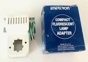 Enertron Compact Fluorescent Lamp Adapter 3900H