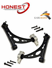 Para VW Golf MK5 GTI GT TDI 05 > Suspensión Delantera Wishbone Brazos Control & Pernos