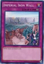 *** IMPERIAL IRON WALL *** SUPER RARE MINT/NM OP01-EN012 3 AVAILABLE! YUGIOH!