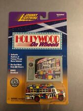 Johnny Lightning Partridge Family Bus Hollywood on Wheels MOC