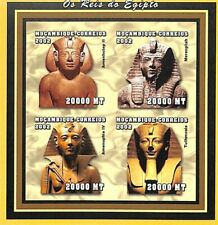 [37375] SUP||**/Mnh || - Mozambique 2002 - Les Rois d'Egypte, ND/Imperf, Amenhot