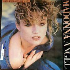"MADONNA - - ANGEL / BURNING UP - - 1985 U.K 12"" Single"