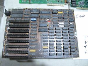 55X9504 IBM PC OR XT System Board + EXTRAS