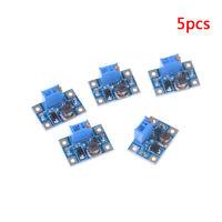5pcs 2-24V to 2-28V 2A DC-DC SX1308 step-up adjustable power module VU