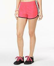 $21.50 Material Girl Active Juniors' Running Shorts, Pink, size M