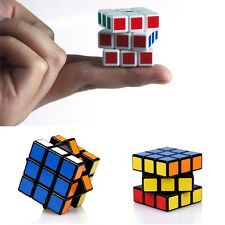 2x Mini 3x3x3 Ultra-smooth Speed Cube Puzzle Twist Kids Gift Toy Game Education