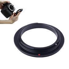 62mm Macro Reverse Adapter Ring For CANON Rebel SL1 T5s T6i T5i T4i 7D 6D 5D 3 2