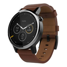 moto 2nd gen watch. Motorola Moto 360 2nd Gen. 46mm Stainless Steel Case Brown Classic Buckle - (00904NARTL) Gen Watch