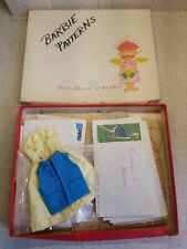 Large Lot Vintage Sewing Patterns Fashion Doll Clothes 1960s Barbie Doll