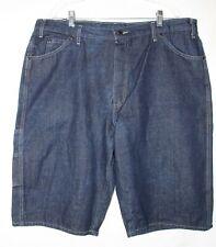 Dickies Dark Denim Jeans Shorts - Size 40