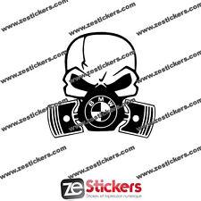 Sticker Piston BMW e21 e30 e36 e46 e60 e92 M3 M4 M5  - Couleurs au choix