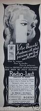 PUBLICITÉ 1938 RADIO-LAIT CRÉATION DE ROSINE - ADVERTISING.