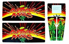 Attack From Mars Pinball Cabinet Decal Set Mr Pinball Australia