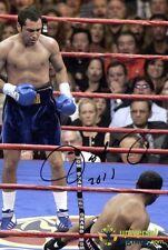 Oscar De La Hoya Hand Signed 12x8 Boxing Photo - World Champion