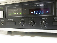 Vintage Realistic Sta-116 Digital Synthesized Am/Fm Stereo Receiver Excellent
