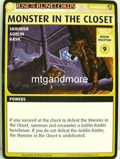 Pathfinder Adventure Card Game - 1x Monster in the Closet - Burnt Offerings