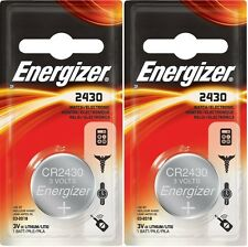 2 pcs Energizer ECR2430 CR 2430 CR2430 3v Battery