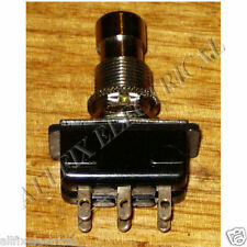 Carling DPDT Chrome Heavy Duty Foot Switch - Part No. SWP316