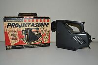 Nice Vintage Brumberger Project-A-Scope  Projector w/ Rare Original Box