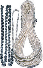 Windlass Series Anchor Rode 9/16 X 200' Nylon 5/16 X 20' Chain Lewmar 69000339
