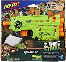 NERF ZOMBIE STRIKE QUADROT Toy Gun Blaster Boys Girls 8+ Play