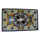 5'x3' Italian Marble Inlaid Breakfast Center Table Top Inlay Home Interior E964A