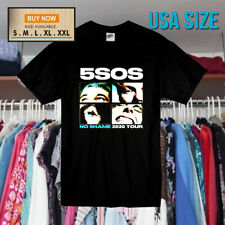 5 Seconds Of Summer T-Shirt No Shame 2020 Tour T ShirtSize S-XXL