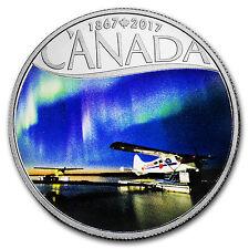 2017 Canada 1/2 oz Ag $10 Celebrating Canada's 150th Float Planes - SKU #105277