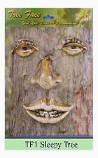 Sleepy Face Tree Decoration Outdoor Statue, New