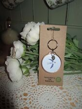 Sophie Allport Handmade Beautiful Key Ring With Charm ~ 'Swallow'