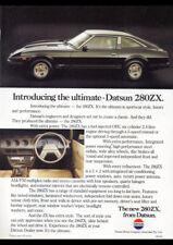 "1979 NISSAN DATSUN 280ZX 2+2 AD A4 CANVAS PRINT POSTER 11.7""x8.3"""