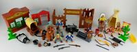 Cowboys & Indians Toy Playset Figures Trading Post Western Town Village Z1