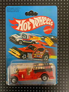 Vintage Hot Wheels Blackwall Old Number 5 Red  No.1695 Hong Kong 1979, 1980