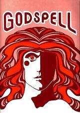 """Stephen Schwartz """"GODSPELL"""" Owings Mill, Maryland 1975 Souvenir Program"""