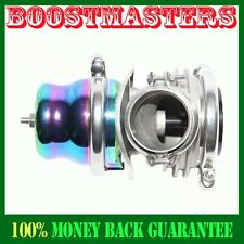 For Acura Integra BMW Audi Honda Accord Civic Emusa 50MM Vband Wastegate Rainbow