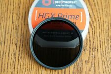 72mm step up to 77mm Promaster IRND8X (.9) HGX Prime ND Filter