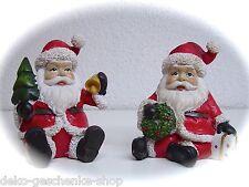 poli Papá Noel Ruprecht 10cm con Campana decoración de Navidad 90138