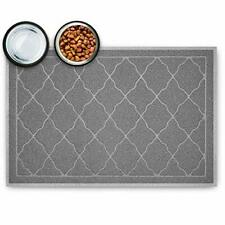 New listing Tosenway Pet Feeding Mat for Food and Water Flexible and Waterproof Dog Food