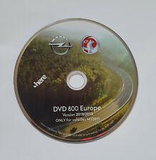 2018-2019 Vauxhall Opel DVD800&CD500 Sat Nav  DVD Disc Update  UK&EUROPE