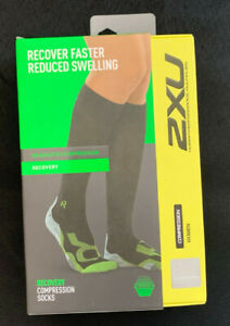 2XU Recovery Compression Socks Large NWT