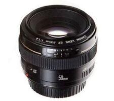 Obiettivi fissa/prima Canon per fotografia e video F/1.4
