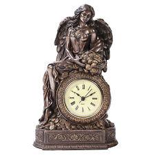 LADY FORTUNA SEATED CLOCK STATUE LA FORTUNA GREEK DESK CLOCK FORTUNE MONEY