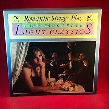 Varios Romantic Cuerdas Jugar Your Favourite Luz Classics 1984 8 Vinilo LP Caja