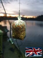 10 Translucent Green quick change solid PVA bag stems for carp fishing