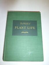 1944 The World of Plant Life Clarence J. Hylander Ph.D. Hardcover Excellent B179