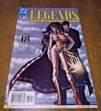DC Wonder Woman Legends of the DC Universe The 18th Letter no 31