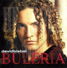 """David Bisbal - CD""""Buleria"""" Participant of the first edition of Operation Triumph"""