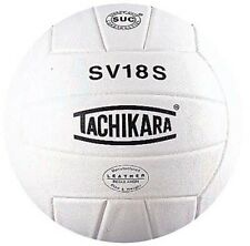 "Tachikara ""Performance"" Institutional Composite Leather Volleyball (White)"